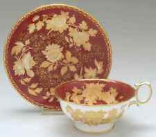 Wedgwood TONQUIN RUBY Cup & Saucer 795610