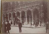 Bruxelles Belgium Vintage citrato Foto amatore ca 1900