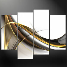 ABSTRACT WAVES CANVAS PRINT PICTURE WALL ART FREE UK POSTAGE VARIETY OF SIZES