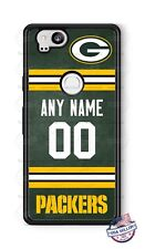 FOOTBALL JERSEY GREEN BAY PACKERS PHONE CASE NAME& No. FITS iPHONE SAMSUNG LG