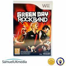 Green Day: ROCKBAND (Wii) ** ottime condizioni **