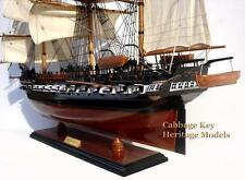 "USS Constitution, Tall Ship, American Frigate, Man-O-War, 1797 36"" Beautiful"