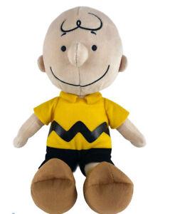"Kohl's Cares Peanuts Charlie Brown Plush Doll Soft Stuffed 14"" - 2019"