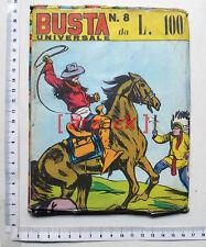Fumetti Busta Sorpresa BUSTA UNIVERSALE n 8 L. 100 Urbis Press Parrini e figli