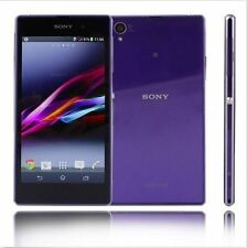 "5"" Sony Ericsson Xperia Z1 C6903 21MP Unlocked GPS NFC Smartphone 16GB Purple"