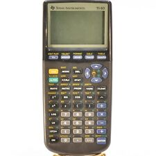 Texas Instruments TI-83 Graphing Calculator with cover