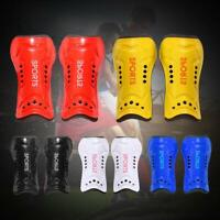 1 Pair Soccer Football Shin Pads Guards Leg Sport Safety Protector Blue For Men