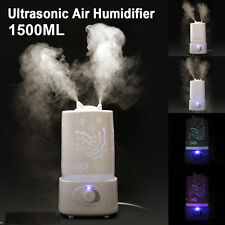 1.5L Ultrasonic Aroma Humidifier Air Diffuser Purifier Household Atomizer