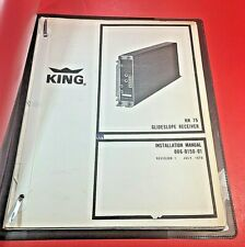 1978 King KN 75 Glidescope Receiver Installation Manual 006-0150-01