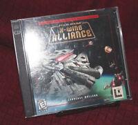 Star Wars X-Wing Alliance Windows PC Game Lucasarts
