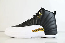 Nike Air Jordan Retro 12 WINGS Black Metallic Gold 848692-033 9227 of 12000 10.5