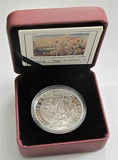 2012 CANADA SILVER $20 DOLLARS A. LISMER NOVA SCOTIA FISHING  PROOF  1 OZ. 9999