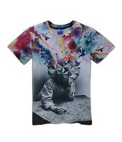 Creative Thinking T-Shirt (all over 3d printed funny colourful t shirt)