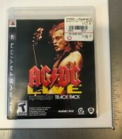 Sony Playstation 3 AC/DC Live Rockband Track Pack video game