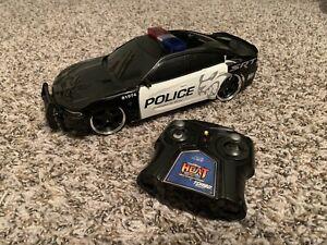 Jada Hyperchargers R/C Police Dodge Charger SRT Hellcat USB Car