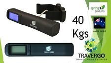 Digital LUGGAGE SCALE  40kgs/88lbs suitcase backpack with strap inc battery
