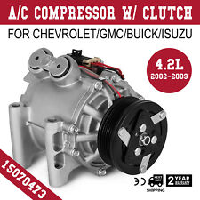 AC A/C Compressor For 2002-2009 Chevrolet Trailblazer & GMC Envoy 6 CYL TRSA12
