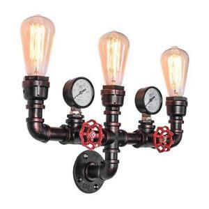 Industrial Retro Iron Loft Wall Lights Sconce Aisle/Coffee Light Fixtures
