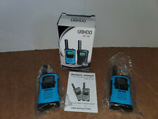BLUE UOKOO WT-48 Walkie Talkies 22 Channel FRS GMRS Two Way Radio