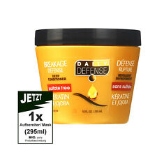 DAILY DEFENCE 295 ml  - 3 Minute Leave In Treatment Deep Conditioner (Keratin)