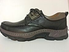 NEW - SOLO Men's Bernard-100 Casual Black Lace-Up Loafers Shoe Size 7.5