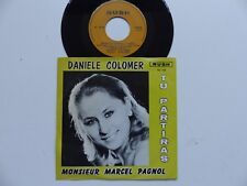 DANIELE COLOMER Tu partiras Monsieur Marcel Pagnol RUSH RC 723  RTL