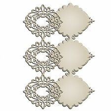 SPELLBINDERS SHAPEABILITIES ELIZABETH BORDER STRIP CUTTING - NEW 2015
