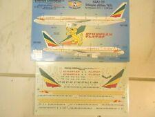 "BOEING B767-300 ""ETHIOPIAN AIRLINES"" LU DECALS 1/200"