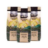 Café Britt - Costa Rican Breakfast Blend Coffee (12 oz.) (3-Pack) WHOLE BEAN