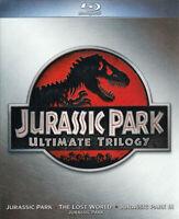 Jurassic Park - Ultimate Trilogy (Blu-ray + Di New Blu