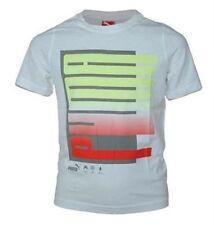 T-shirts, débardeurs et chemises blanches à motif Graphique manches courtes pour garçon de 2 à 16 ans