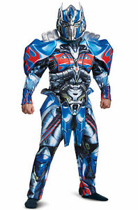 Brand New Transformers Optimus Prime Deluxe Adult Costume