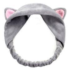 Wash Shower Cap Cute Cat Ears Headband Hair Head Band Hair Accessories
