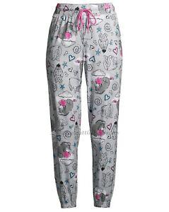 Disney Eeyore Pajamas Pants Size XS-3X Womens Jogger Winnie The Pooh Bear Friend