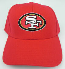 San Francisco 49ers Team NFL Adjustable Hat Cap Red Glitter Ladies Female 298bf2ca2