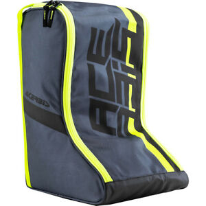 Acerbis MX Grey/Yellow Off Road Motocross Dirt Bike Boot Bag