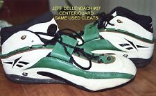 Green Bay Packers #67 Jeff Dellenbach Game Used Reebok Cleats