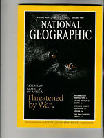 NATIONAL GEOGRAPHIC Magazine October 1995 - Mountain Gorillas Of Africa