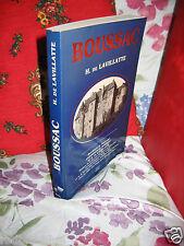Henri de LAVILLATTE - BOUSSAC - Reed de 1907 -  ed Verso 1987