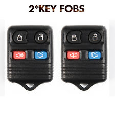 For Ford Focus Escape Explorer 2Pcs Keyless Entry Remote Key Fob Case Only