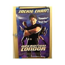 OPERATION CONDOR Original Home Video Poster Jackie Chan