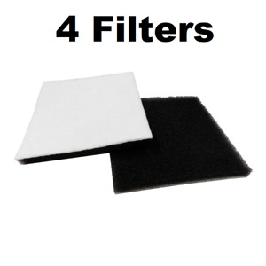 4 Filters for Kenmore Canister Vacuum 86883 CF1 CF-1