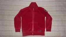 haut veste rouge velour VILLERVALLA 6ans 116 cm motif étoile