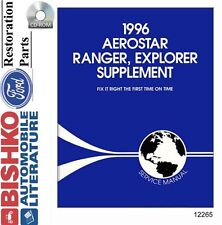 1996 Ford Truck Aerostar Explorer Ranger Supplement to 1995 Repair Manual CD