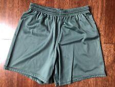Flynn & O'Hara Shorts Youth Large L Green Drawstring Elastic Band Gym uniform