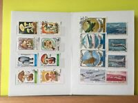 Worldwide Stamps 65 Different Stamps in a New 8 Pages Stamp Collection Book (#4)