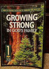 Growing Strong in God's Family: A Course in Personal Discipleship to Strengthen