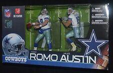 Tony ROMO & Miles AUSTIN Dallas Cowboys QB & WR 2 Pack McFarlane Toys MIB