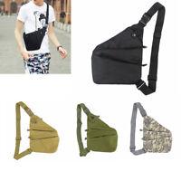 Outdoor Chest Pack Bags Men Single Shoulder Bags Waterproof Nylon Crossbody bags