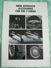BMW 3 Series Accessories brochure c1991
